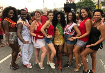 Azulinha samba au carnaval de Rio 2018